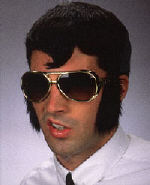 Elvis Glasses with Sideburns Attached