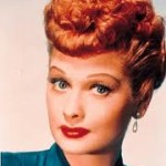 Lucille Ball star of I love Lucy