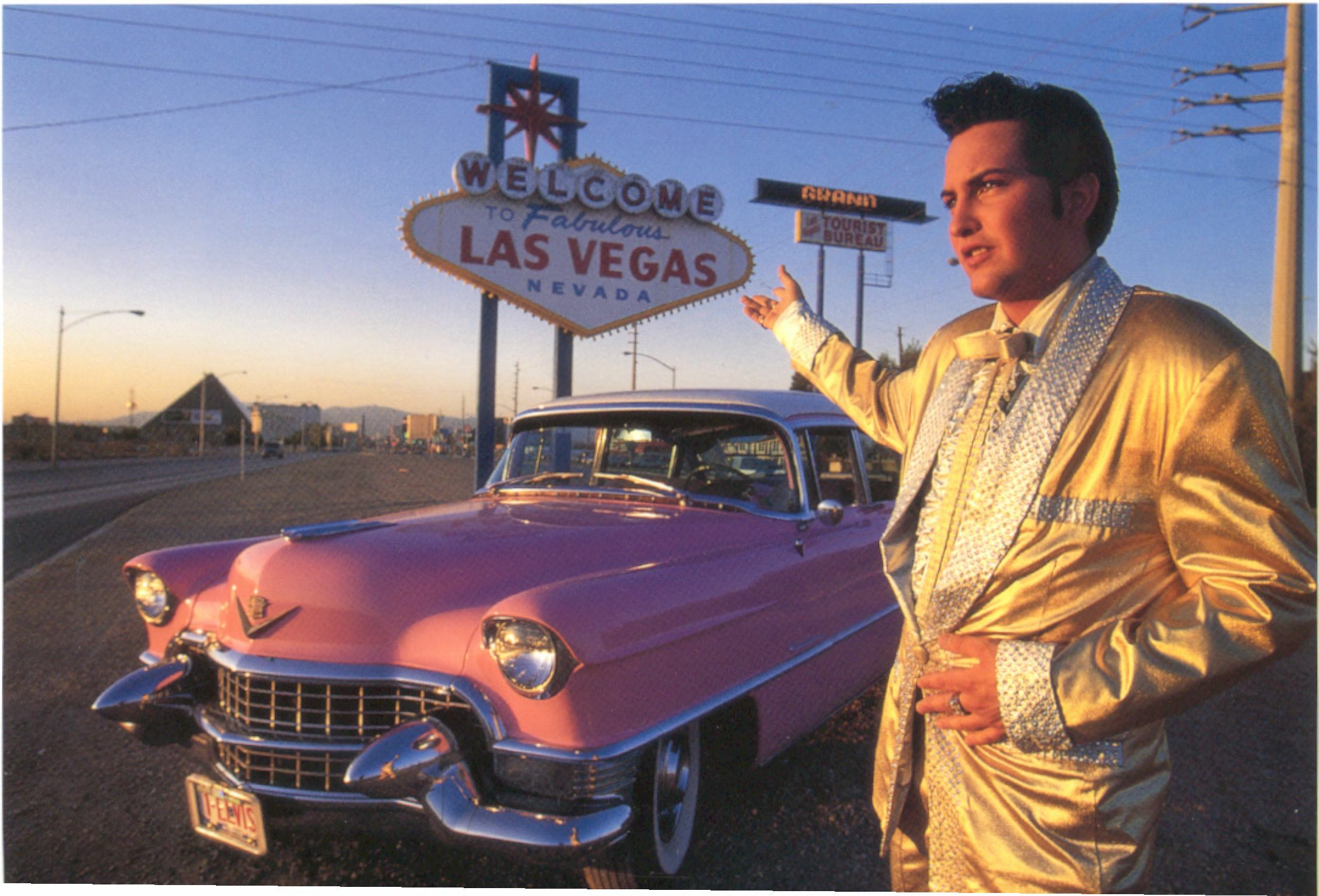 Elvis Pink Cadillac Weddings In Las Veggas With Jesse Garon